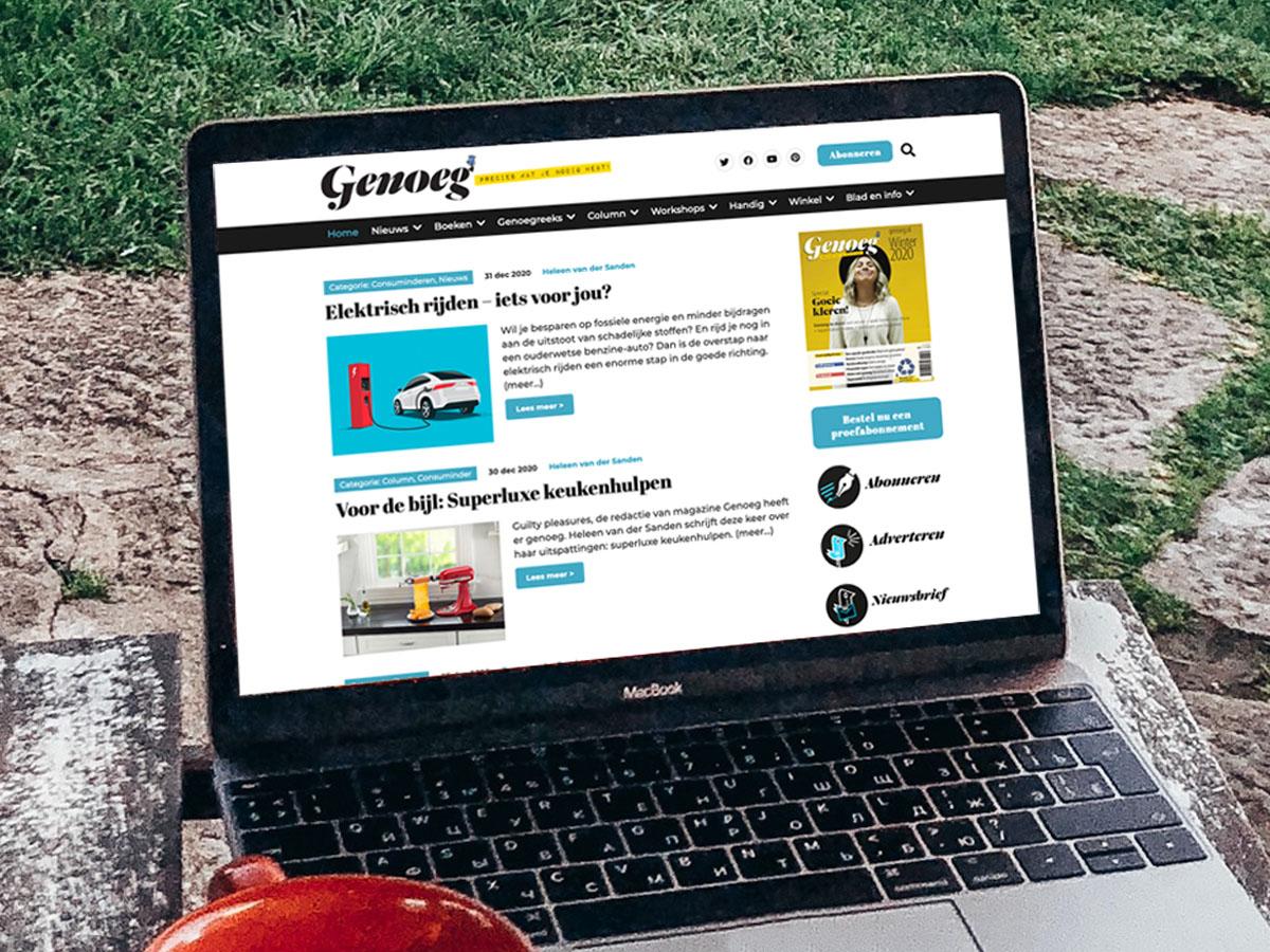 Website genoeg.nl