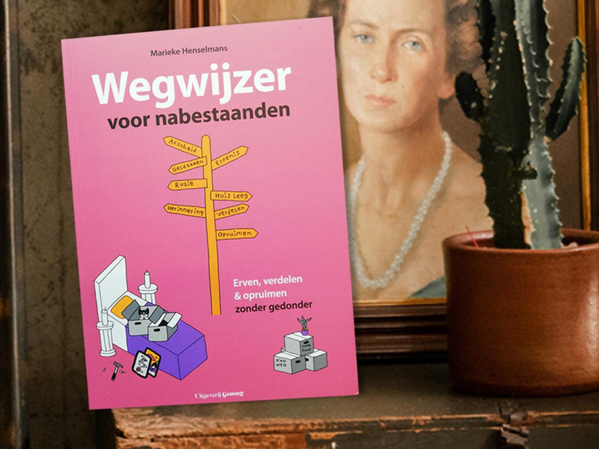 """Boek """"Wegwijzer voor nabestaanden"""""""
